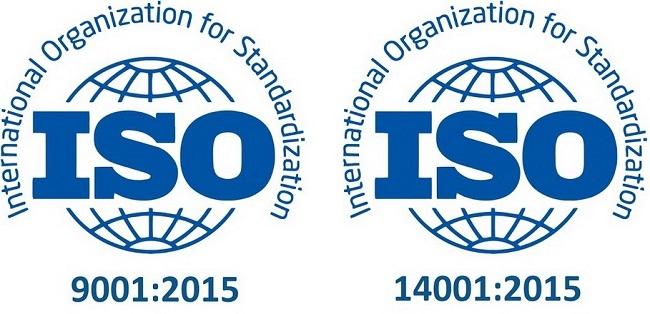 Resertifikacija sistema menadžmenta kvalitetom i životnom sredinom prema zahtevima ISO 9001:2015 i ISO 14001:2015