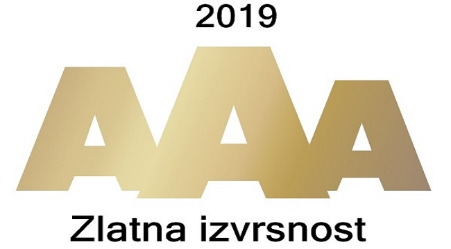 Zlatni sertifikat bonitetne izvrsnosti 2019