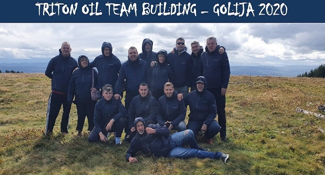Triton oil TEAM BUILDING – GOLIJA 2020